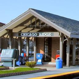 Chicago Ridge Train Station - Photo Credit: Chicago Ridge, IL Official Website